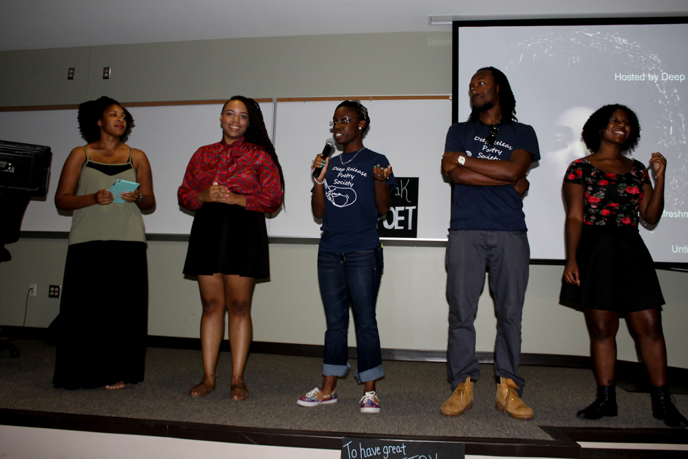 Deep Release Poetry Society Exec Board