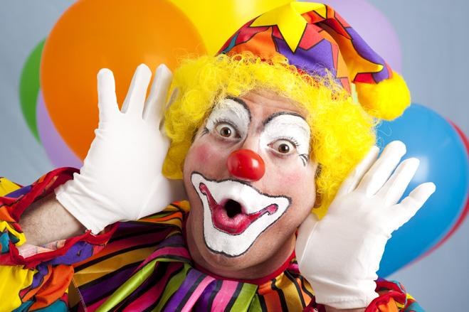 Coulrophobia –Fear of clowns