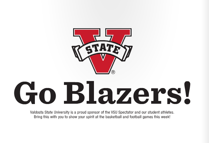Pick up a copy of this week's Spectator to get a sign (above) for the game!